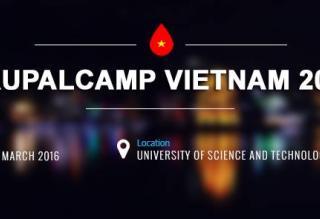 DrupalCamp Việt Nam 2016 - Drupal 8
