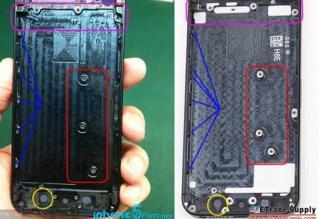 Những bức ảnh thực tế được cho là của iPhone 5S vừa được đăng tải trên mạng