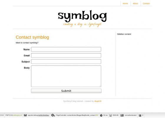 [Phần 2] -Tạo trang Contact Page: Validators, Forms and Emailing